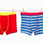 boxers on clothesline
